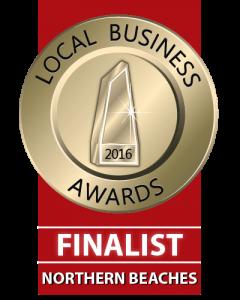 Northern Beaches Local Business Award Finalist 2016