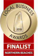 Northern Beaches Local Business Award Finalist 2019