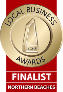 Northern Beaches Local Business Award Finalist 2020