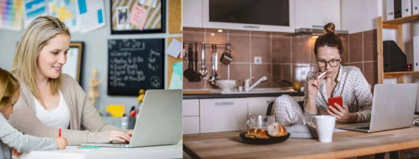 How to juggle the working at home schedule website